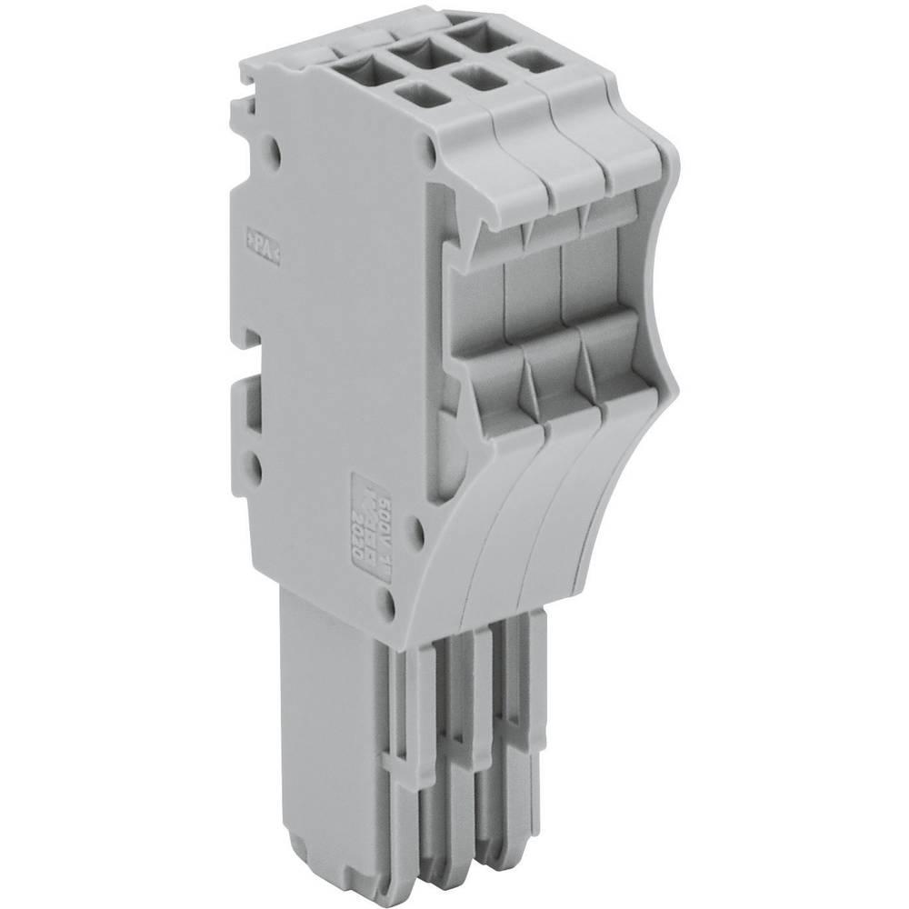 WAGO 2020-115 X-COM S-SYSTEM MINI 1-conductor Receptacles 0.14 - 1.5 mm² Grey 1 pc(s)