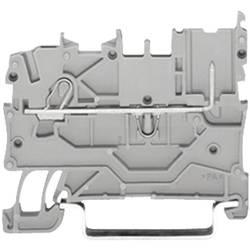 WAGO 2020-1201 1-conductor/1-pin Base Terminal Series 2020 0.14 - 1.5 mm² Grey