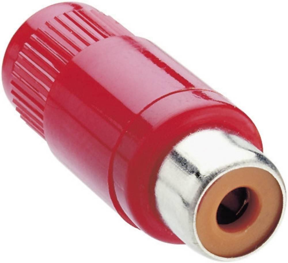 Cinch konektor KTO 1 rdeči Lumberg