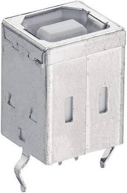 Inbyggnadskoppling typ B, stående, SMT Lumberg 2411 01 USB 2.0 1 st
