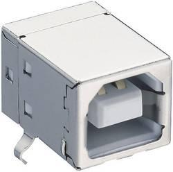 Inbyggnadskoppling typ B, vinklad Lumberg 2411 02 USB 2.0 1 st
