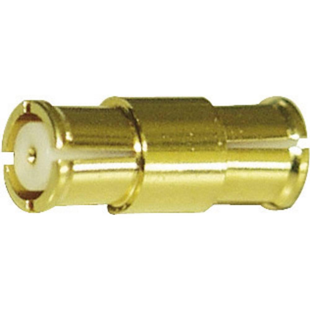 SMP-adapter IMS 3341.SMP.9910.001, 11,6 mm, ravni ženski konektor, pozlačena medenina