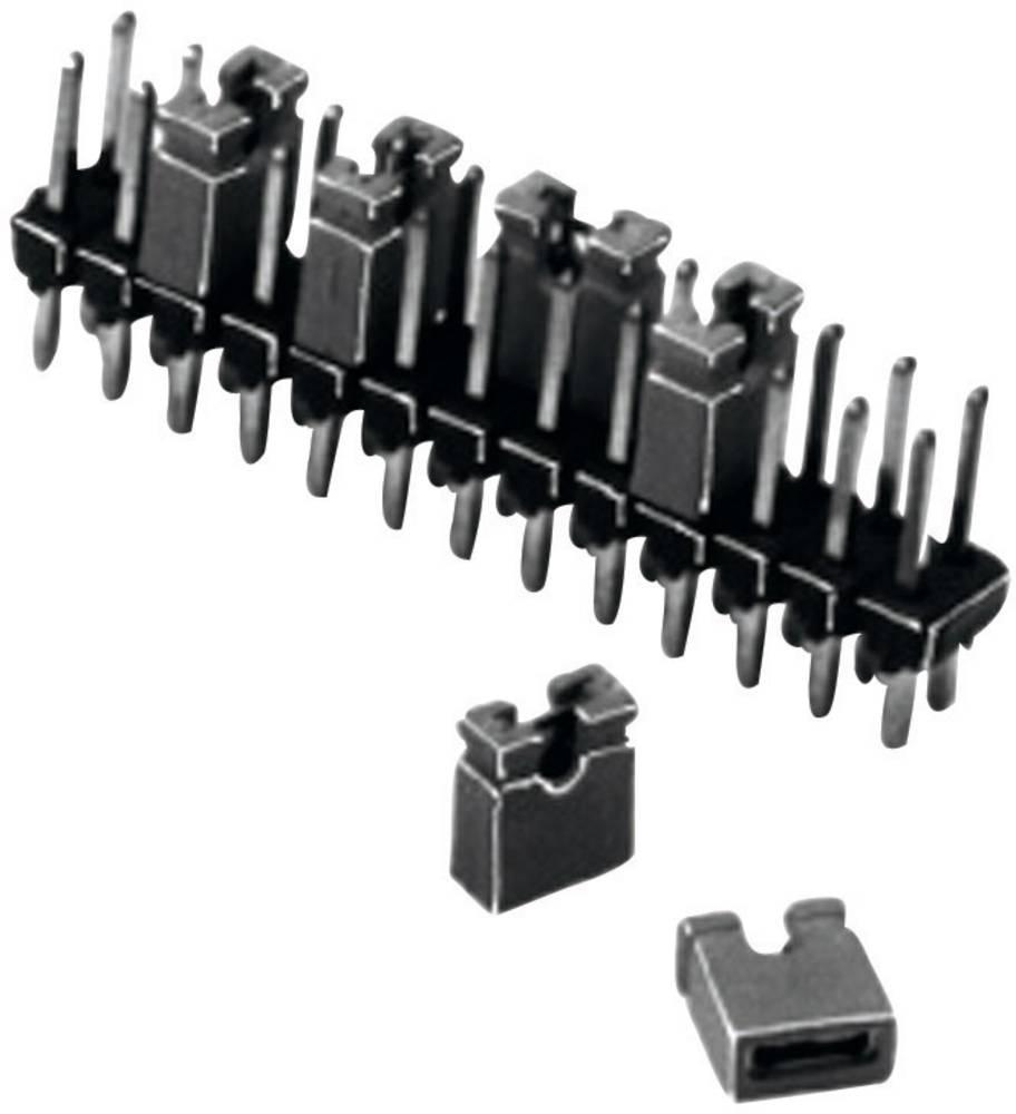 Kratkostični mostiček W & P Products 165-201-30-00, razporeditev kontaktov: 2,54 mm, 1 kos