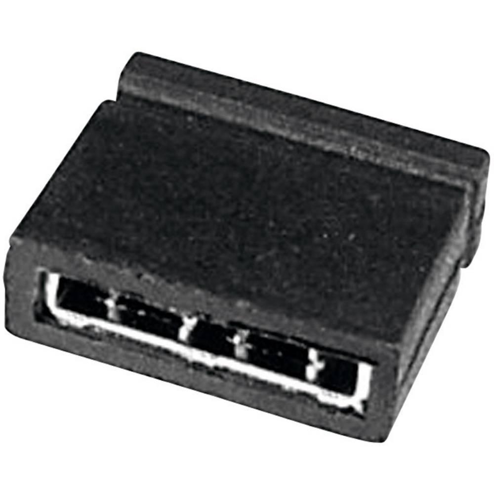 Kratkostični mostiček W & P Products 265-101-10-00, razporeditev kontaktov: 5,08 mm, 1 kos