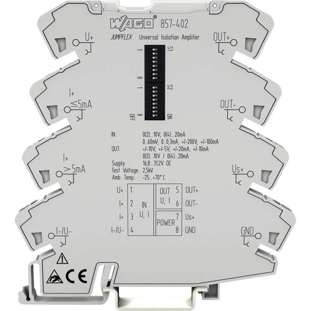 WAGO 857-402-Univerzalni Izolacijski pojačivač, 1 komad