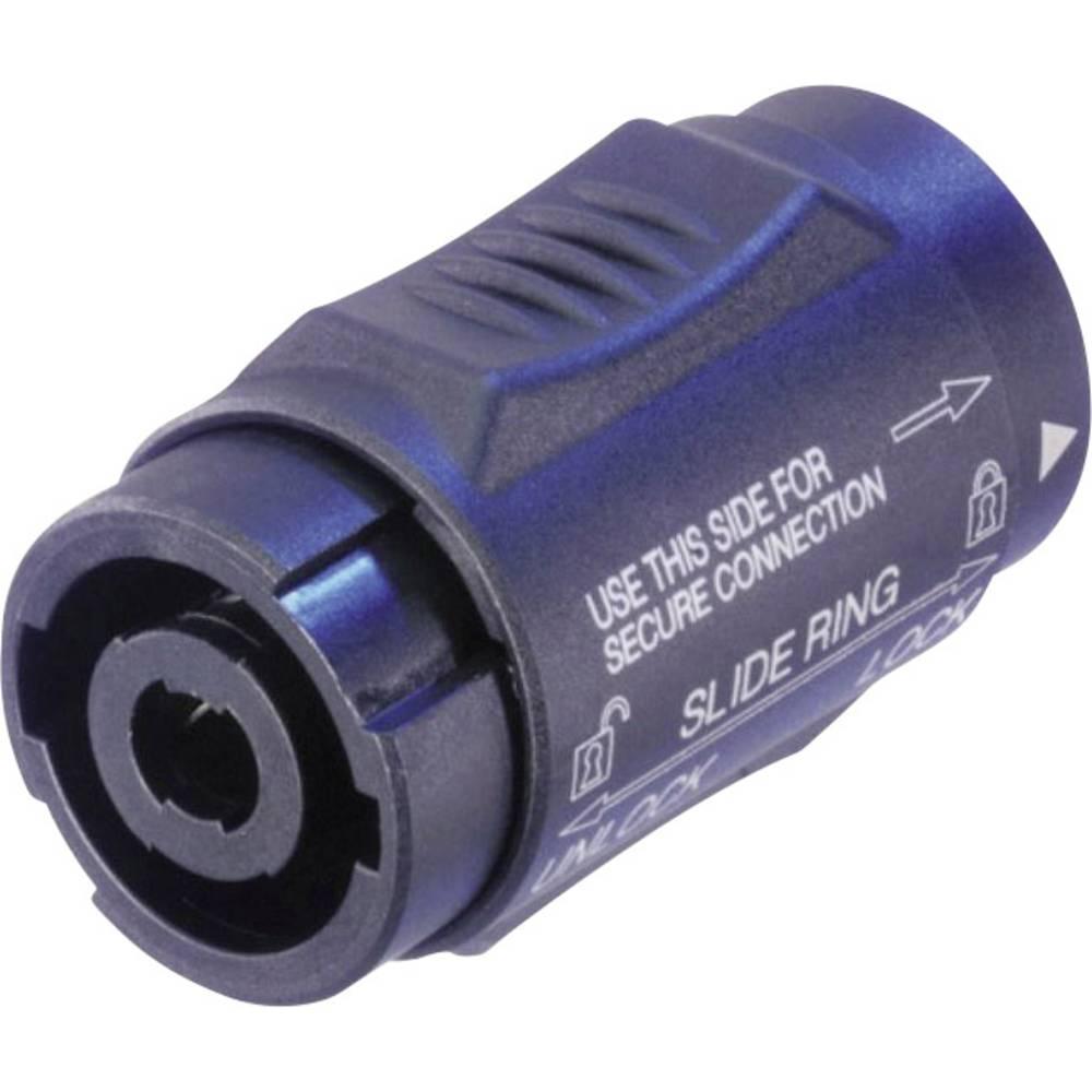 Neutrik NLMM=NL4MMX-Konektor za zvočnik Speakon, dvojni, ravni kontakti, 4-polni, 1 kos