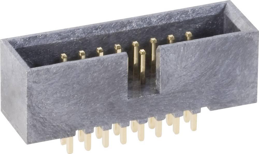 Stiftliste uden udløsergreb Rastermål: 1.27 mm Samlet antal poler: 50 BKL Electronic 1 stk