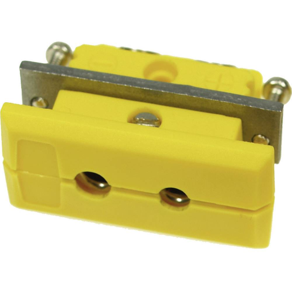 Standardni konektor za termoelement B & B Thermotechnik 0220 0078-01, 1 mm2, rumen, 1 kos
