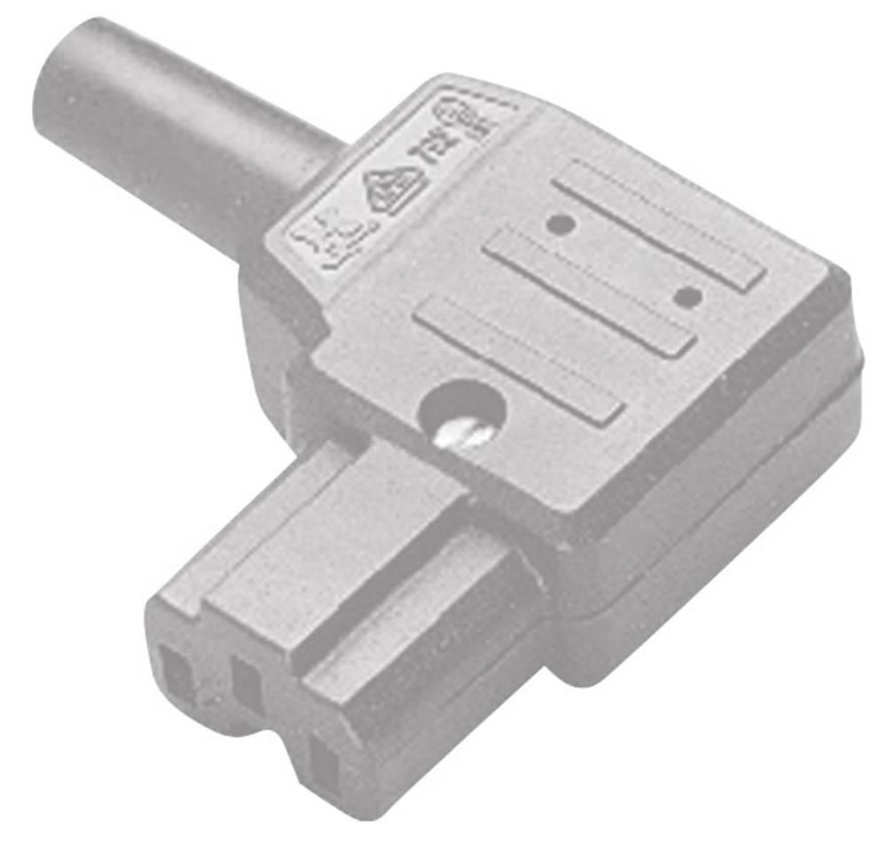 Varmapparat-stik (C15A/C16A) C15A Serie (netstik) 792 Tilslutning, vinklet Samlet poltal: 2 + PE 10 A Grå Kaiser 792/gr/C 1 stk