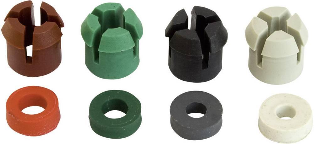 Vpenjalni obroč in gumijast tulec ESKA Bulgin PX0482, vsebina: 4 pari