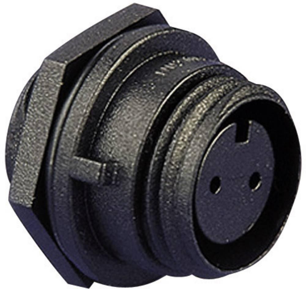 Konektor za kabel ESKA BulginPX0412/02S, montaža na prednjoploščo, 8 A, poli: 2