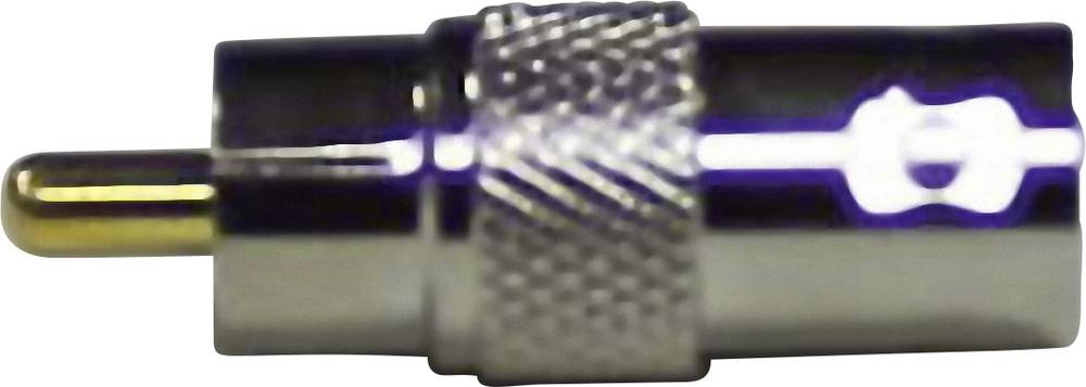 BNC-adapter BNC-tilslutning - RCA-stik 1 stk