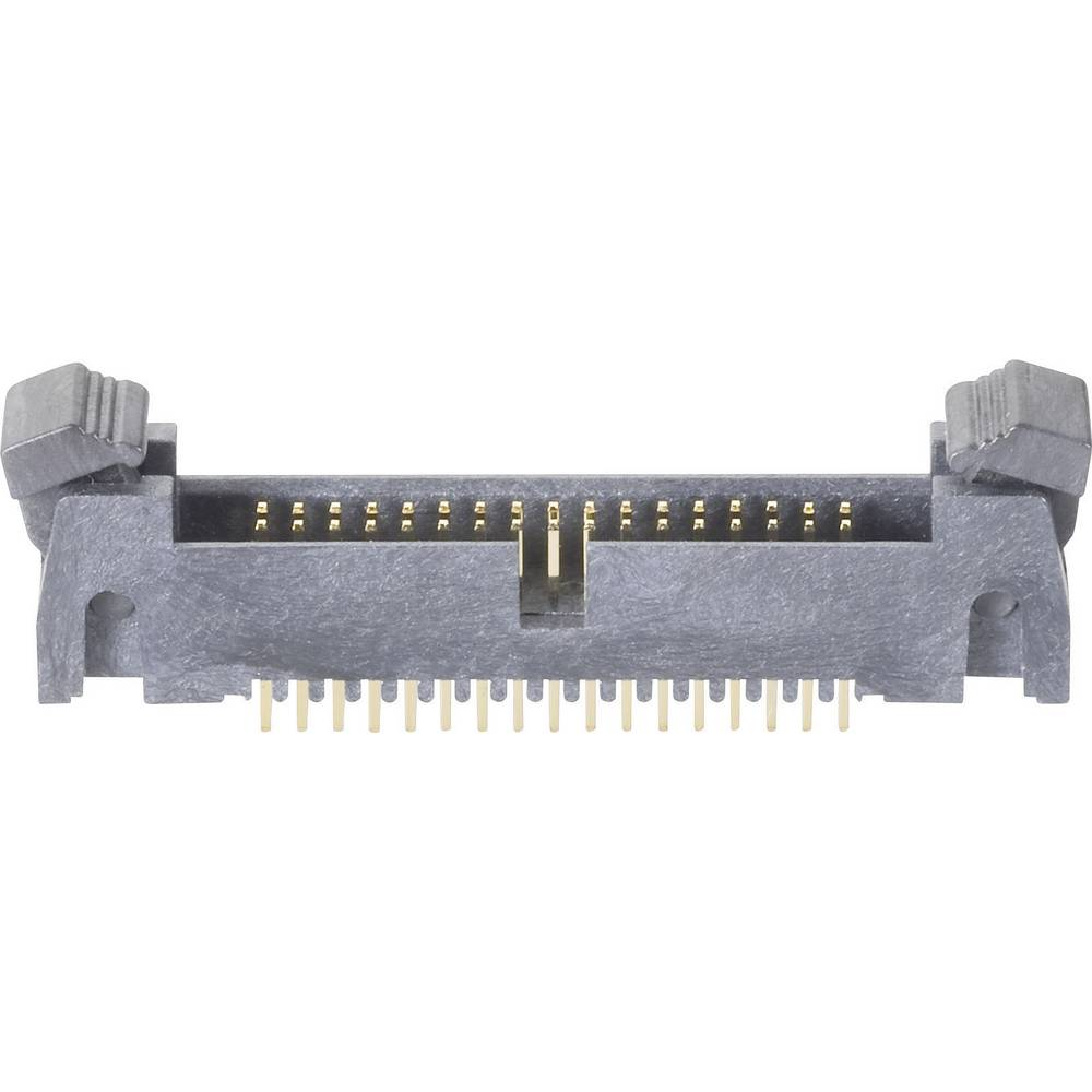 Stiftliste med kort udløsergreb Rastermål: 1.27 mm Samlet antal poler: 10 BKL Electronic 1 stk