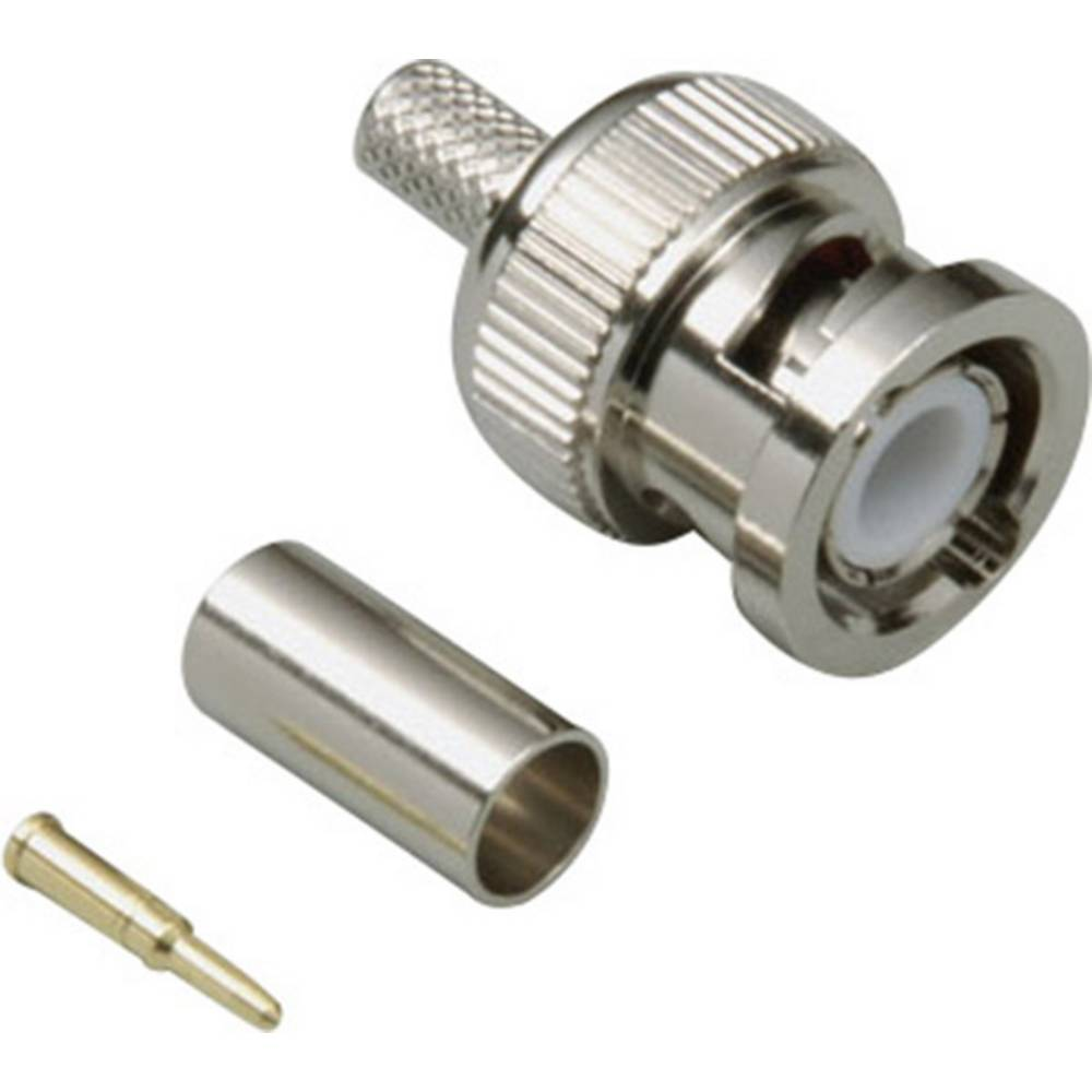BNC-stikforbindelse BKL Electronic 0401274 50 Ohm Stik, lige 1 stk