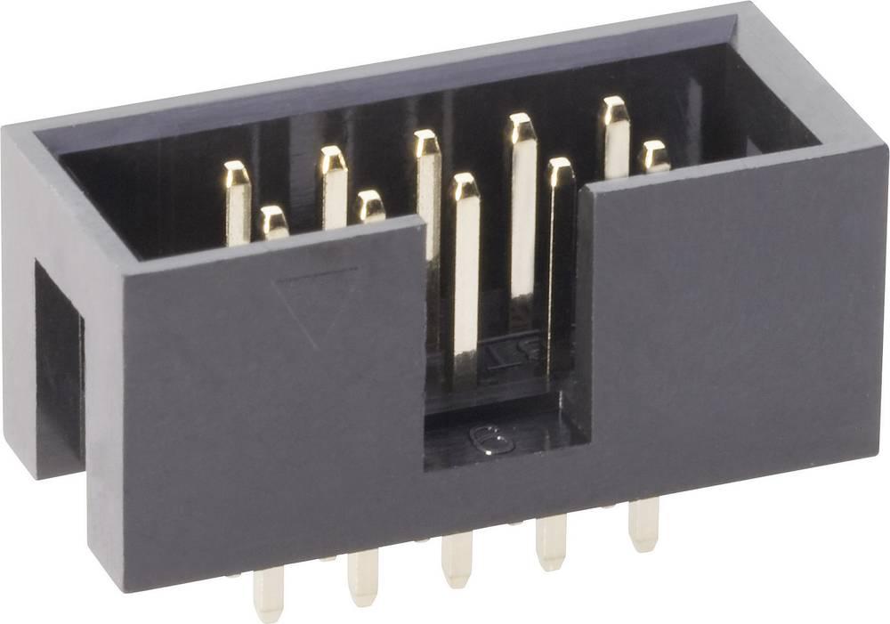 Stiftliste uden udløsergreb Rastermål: 2.54 mm Samlet antal poler: 16 BKL Electronic 1 stk