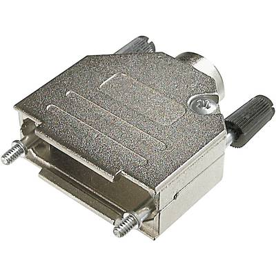Image of ASSMANN WSW AMET 15 RS D-SUB housing Number of pins: 15 Metal 180 ° Silver 1 pc(s)