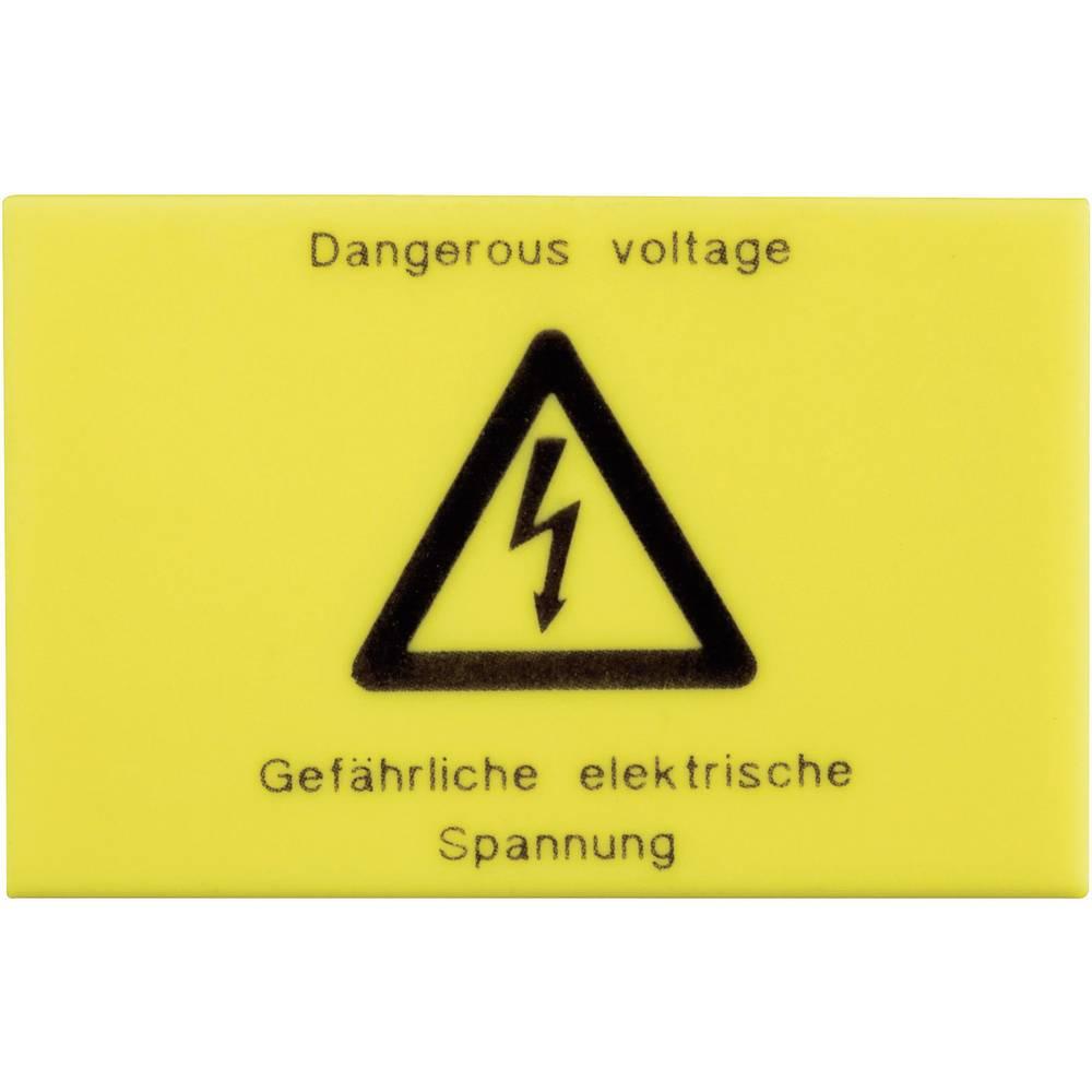 Advarselsskilt Phoenix Contact 2716499 WS-G5/4 Gul 1 stk