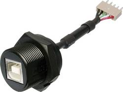 USB B-uttag med 5-poler. Kontakt ASSMANN WSW USB 2.0 1 st