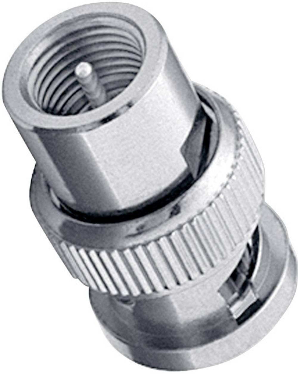 FME-adapter Amphenol Tuchel BM-FMEM-ND3G-50, FME moški konektor na BNC moški konektor