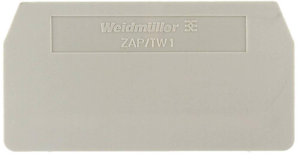 Endeplader og skillevægge ZAP/TW 1 BL 1608750000 Atolblå Weidmüller 1 stk