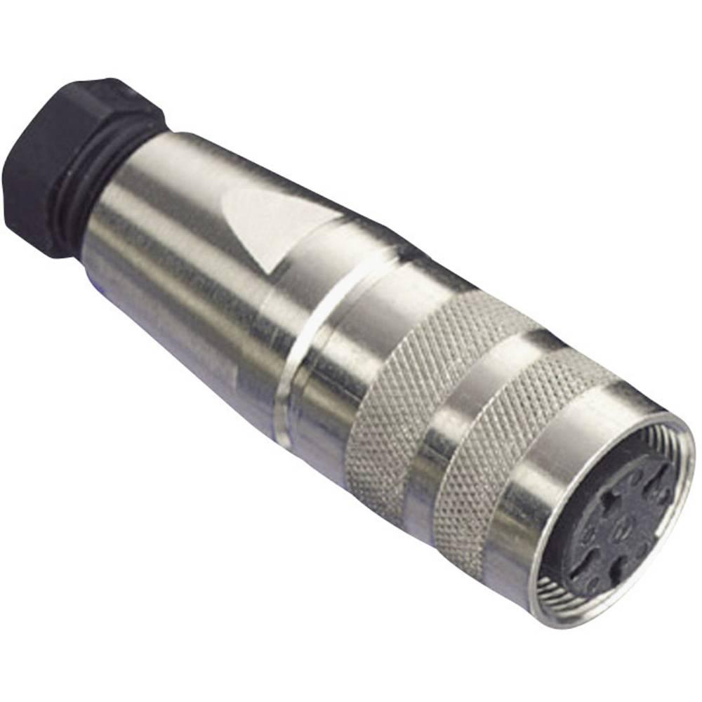 Okrogli konektor Amphenol serije C091/D, C091 31D012 200 2,nazivni tok: 3 A, poli: 12