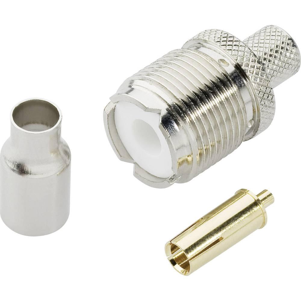UHF-stikforbindelse BKL Electronic 0406076 50 Ohm Tilslutning, lige 1 stk