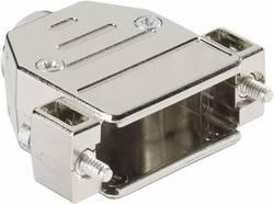 D-SUB-kabinet Harting 09 67 009 0443 Poltal 9 180 ° Plastic, metalliseret Sølv 1 stk