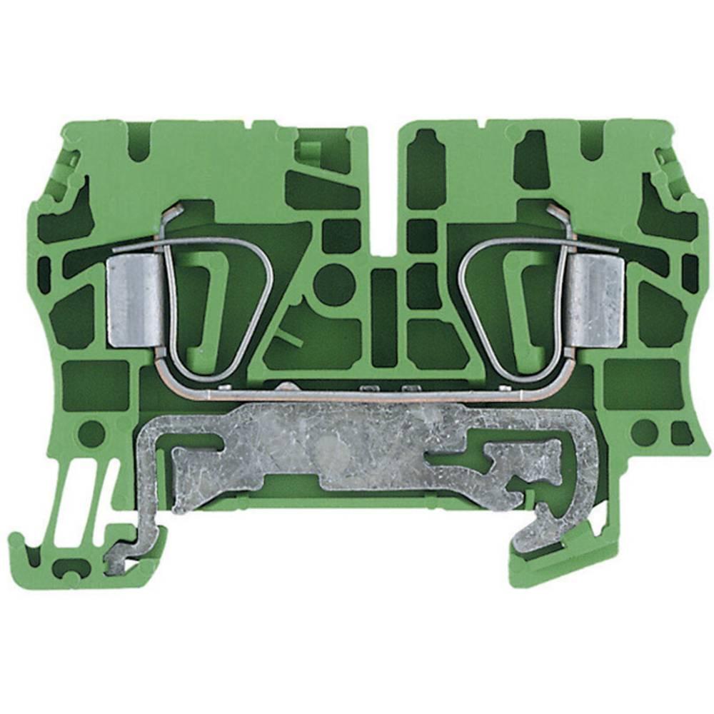 Beskyttelsesleder terminaler ZPE Weidmüller ZPE 4 1632080000 Grøn-gul 1 stk