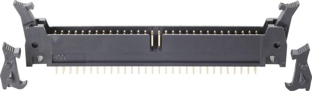 Stiftliste med kort/lang udløsergreb Rastermål: 2.54 mm Samlet antal poler: 60 BKL Electronic 1 stk