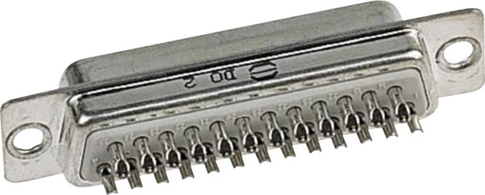 SUB D konektorska letev 37 polna, 09670375615 Harting 09 67 037 5615