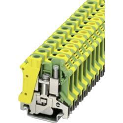 PE-beskyttelseslederklemme Phoenix Contact USLKG 10 N Grøn-gul 1 stk