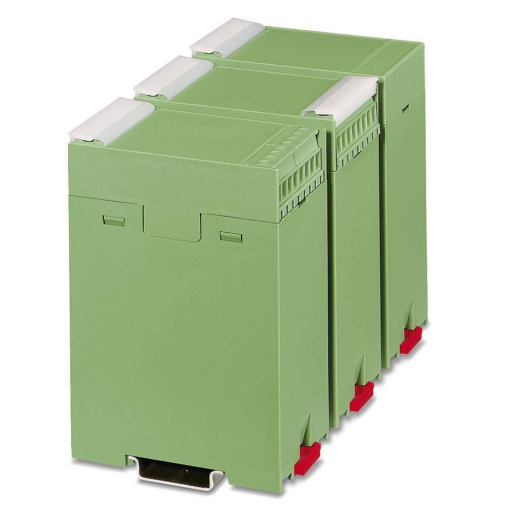 DIN-skinnekabinet underdel Phoenix Contact EG 45-G/ABS GN 75 x 45 ABS Grøn 1 stk
