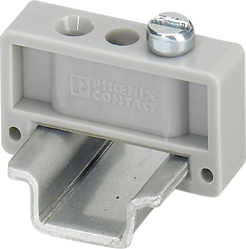 Endeholder til G- og DIN-skinne E/MK Phoenix Contact Indhold: 1 stk