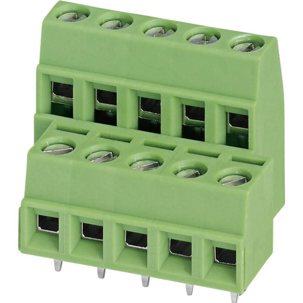 Dobbeltrækkeklemme Phoenix Contact MKKDSN 1,5/ 8 1.50 mm² Poltal 16 Grøn 1 stk