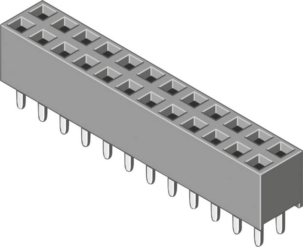 Bøsningsliste (standard) MPE Garry 094-2-014-0-NFX-YS0 220 stk