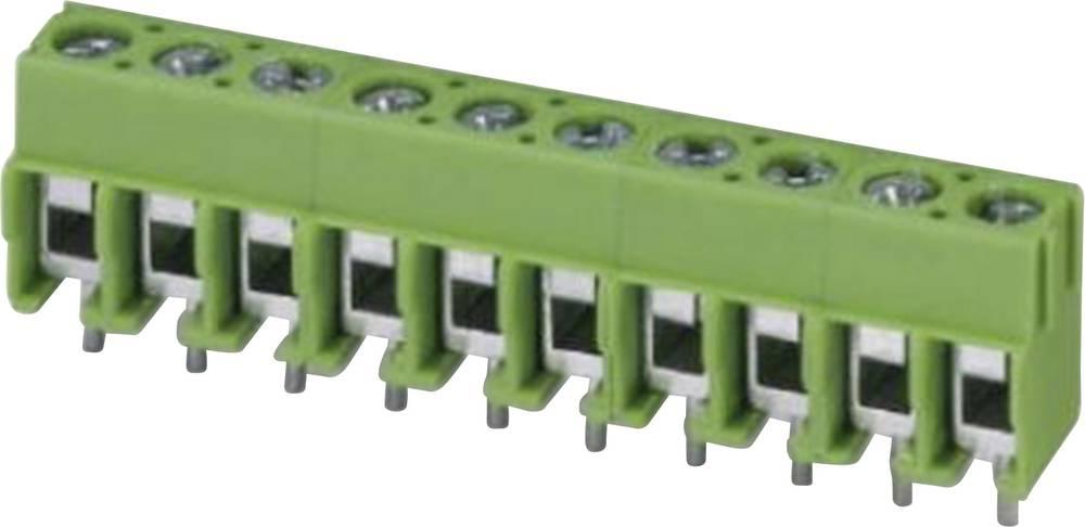 Skrueklemmeblok Phoenix Contact PT 1,5/ 4-5,0-H 2.50 mm² Poltal 4 Grøn 1 stk