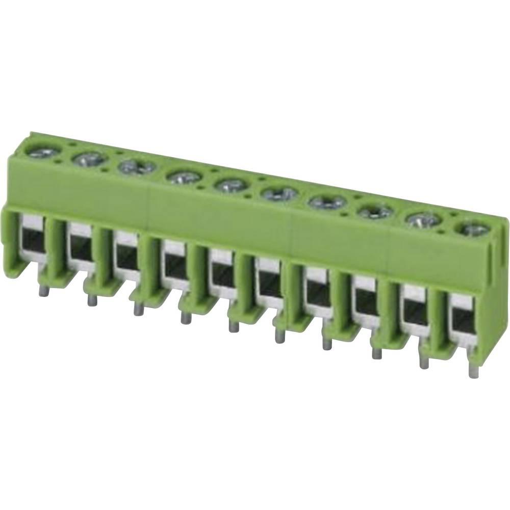 Skrueklemmeblok Phoenix Contact PT 1,5/11-5,0-H 2.50 mm² Poltal 11 Grøn 1 stk