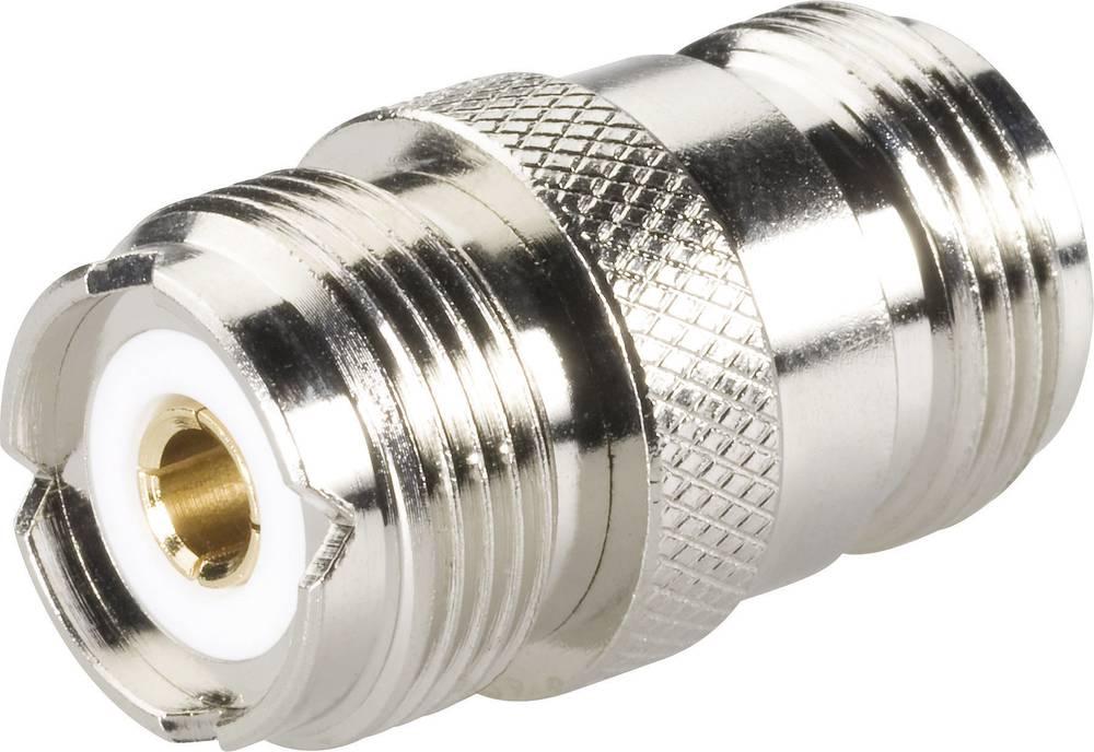 N-adapter N-tilslutning - UHF-tilslutning BKL Electronic 404047 1 stk