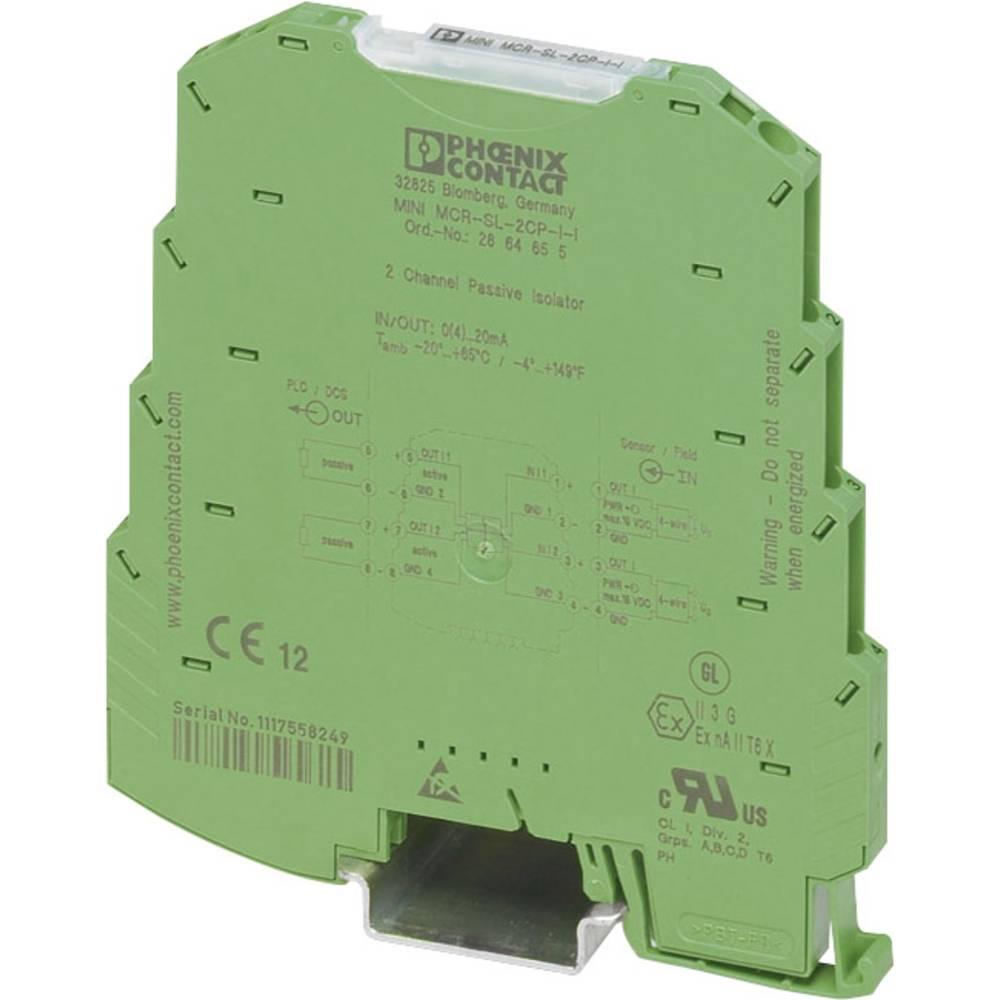 Eno- in večkanalni pasivni ločilnik Phoenix Contact MINI MCR-SL-1CP-I-I 2864419 1 kos