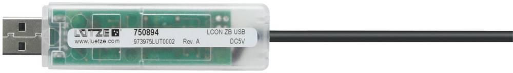 USB-kabel za servisiranje Lütze LCON ZB USB, št. proiz.: 750e LCON ZB USB, št. proiz.: 750 750894