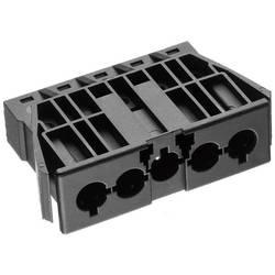 Strømstik Serie (netstik) AC Tilslutning, indbygning lodret Samlet poltal: 4 + PE 16 A Sort Adels-Contact AC 166 GEST/ 5 1 stk