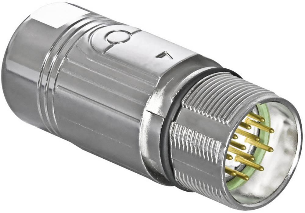 Industristikforbindelse M23 serie 623 - signalstikforbindelse Intercontec AKUA012MR04410200C00 1 stk