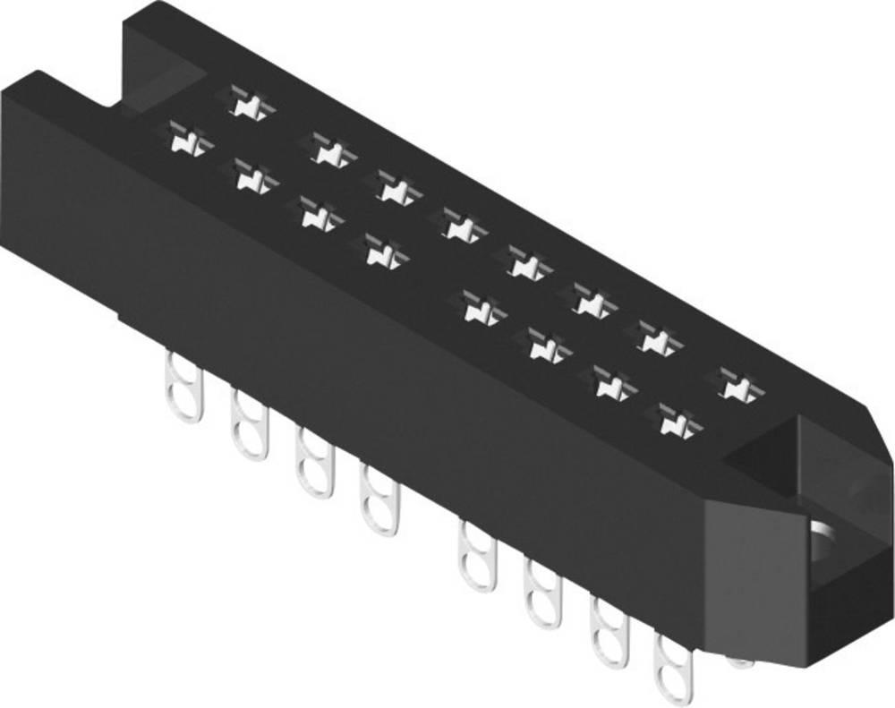 Multistikfatning 384-2-030-HBN-ZS Samlet poltal 30 Antal rækker 3 MPE Garry 10 stk
