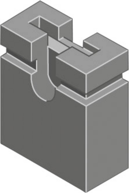 Kortslutningsbro Rastermål: 2.54 mm Poltal hver række:2 MPE Garry MP-Jump 600GG-04L Indhold: 4000 stk