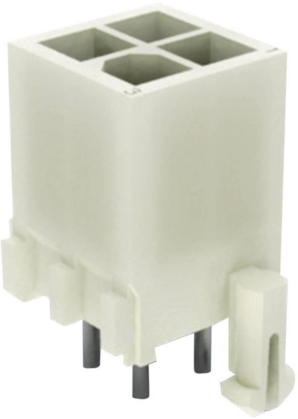 Stiftkabinet-printplade Mini-Universal-MATE-N-LOK Samlet antal poler 14 TE Connectivity 1-794067-0 1 stk