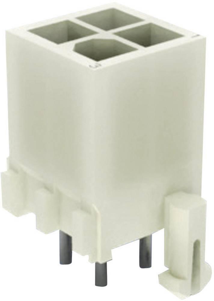 Stiftkabinet-printplade Mini-Universal-MATE-N-LOK Samlet antal poler 16 TE Connectivity 1-794068-1 1 stk