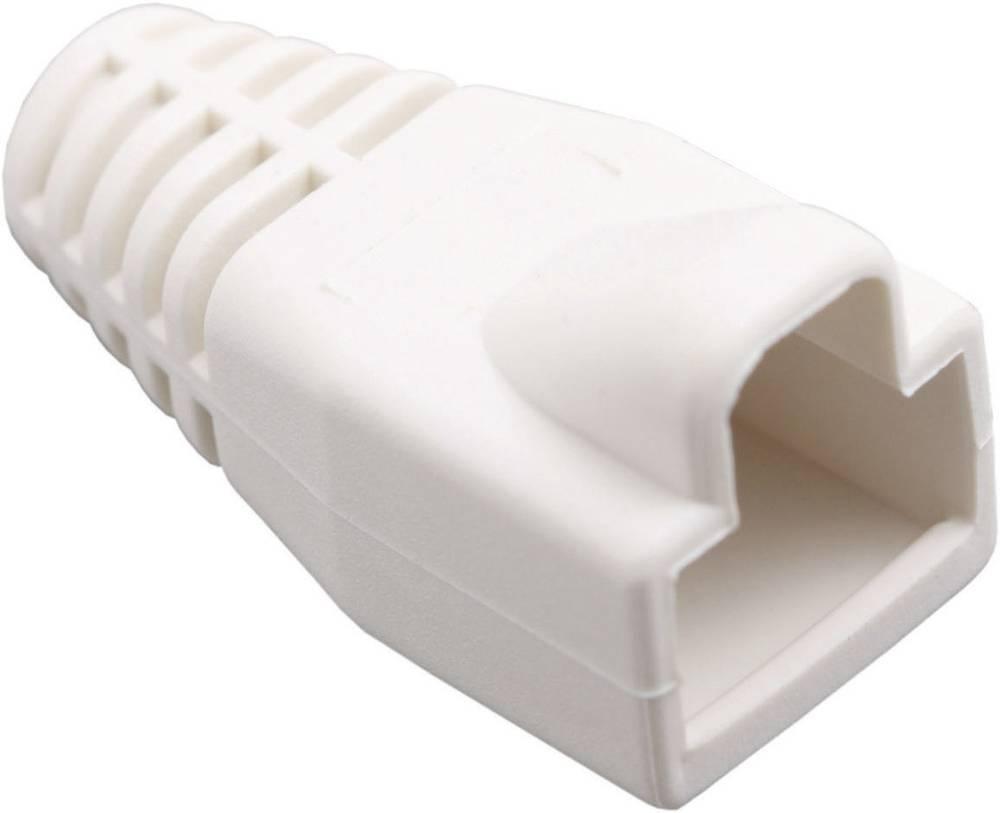 Ustnik za zaščito pred ukrivljanjem z zapahno ročico 450-018 bele barve BEL Stewart Connectors 450-018 1 kos