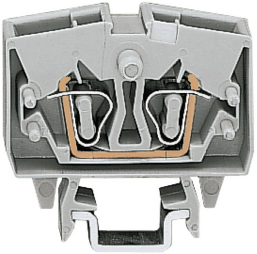 WAGO 264-701 Mini Through/earth Conductor Terminals Series 264 0.08 - 2.5 mm² Grey