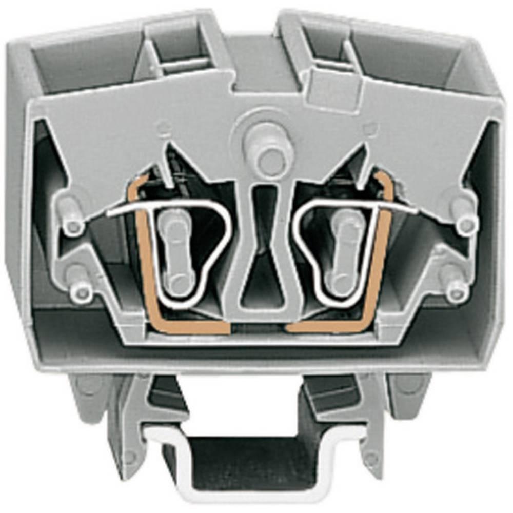 WAGO 264-721 Mini Through/earth Conductor Terminals Series 264 0.08 - 2.5 mm² Grey