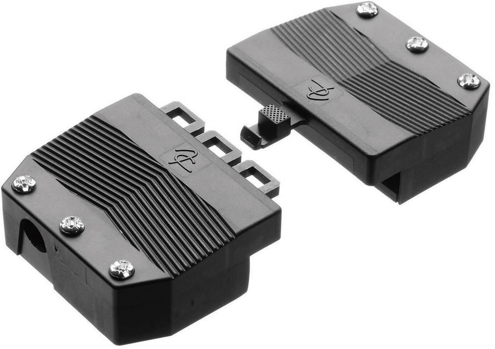 Trækaflastning Adels-Contact AC 166-1/ 6 ZEL R Hvid 1 stk